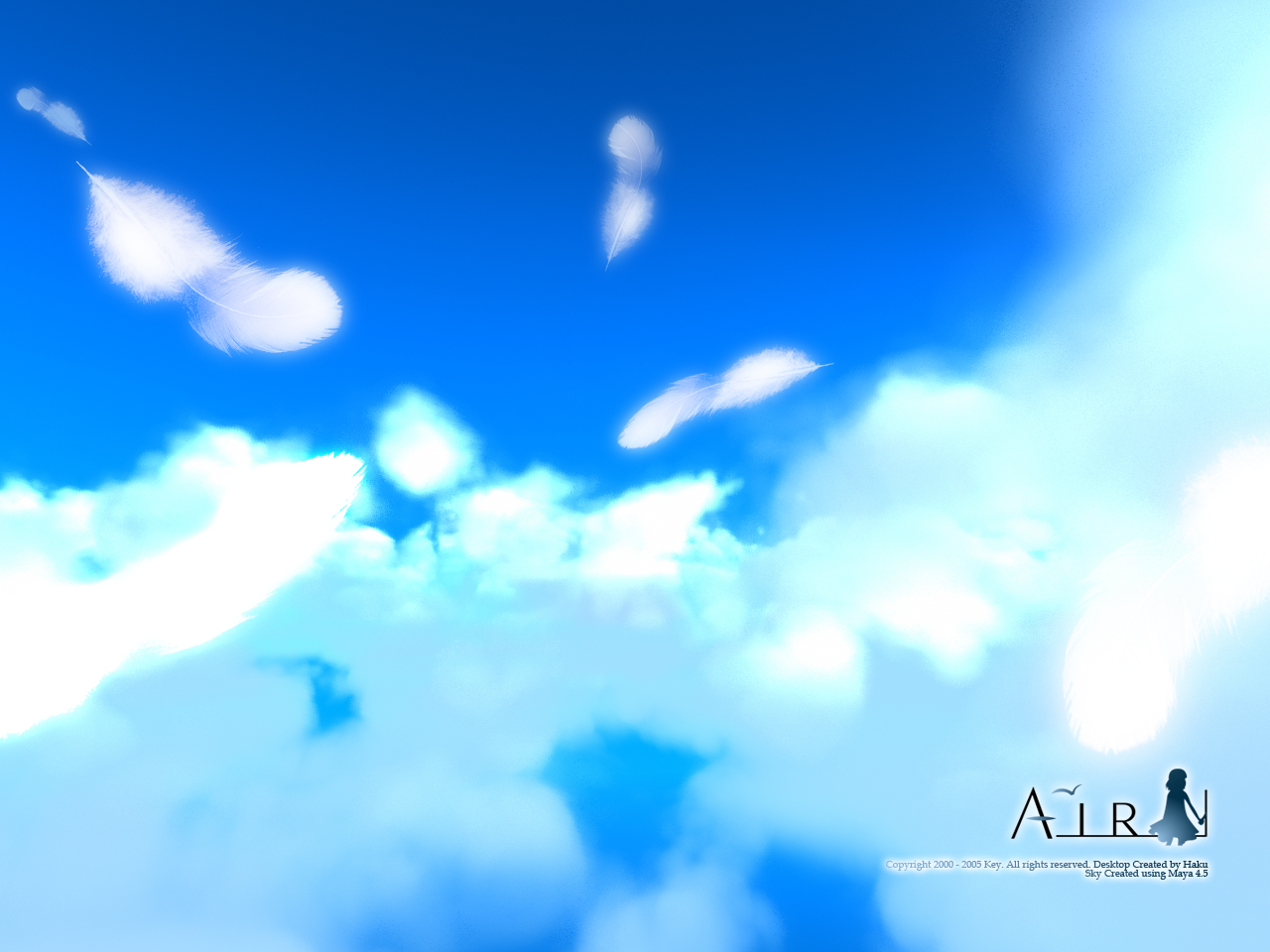 air wallpaper zerochan anime image board