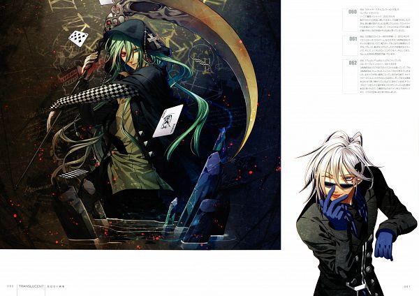 Tags: Anime, Hanamura Mai, IDEA FACTORY, AMNESIA, Ukyo (AMNESIA), Ikki (AMNESIA), Card (Object)