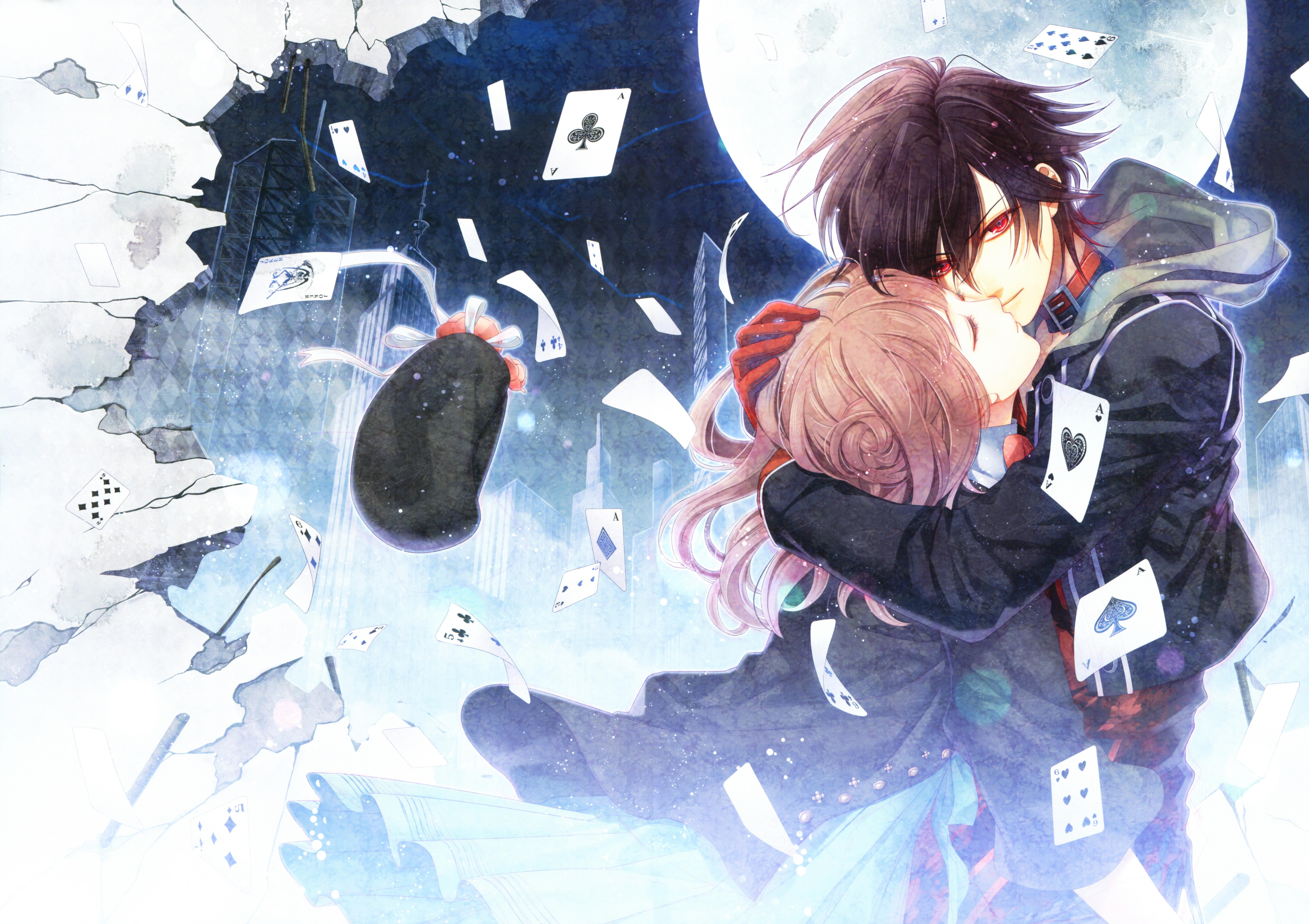 View Fullsize AMNESIA Image Amnesia Anime Kiss