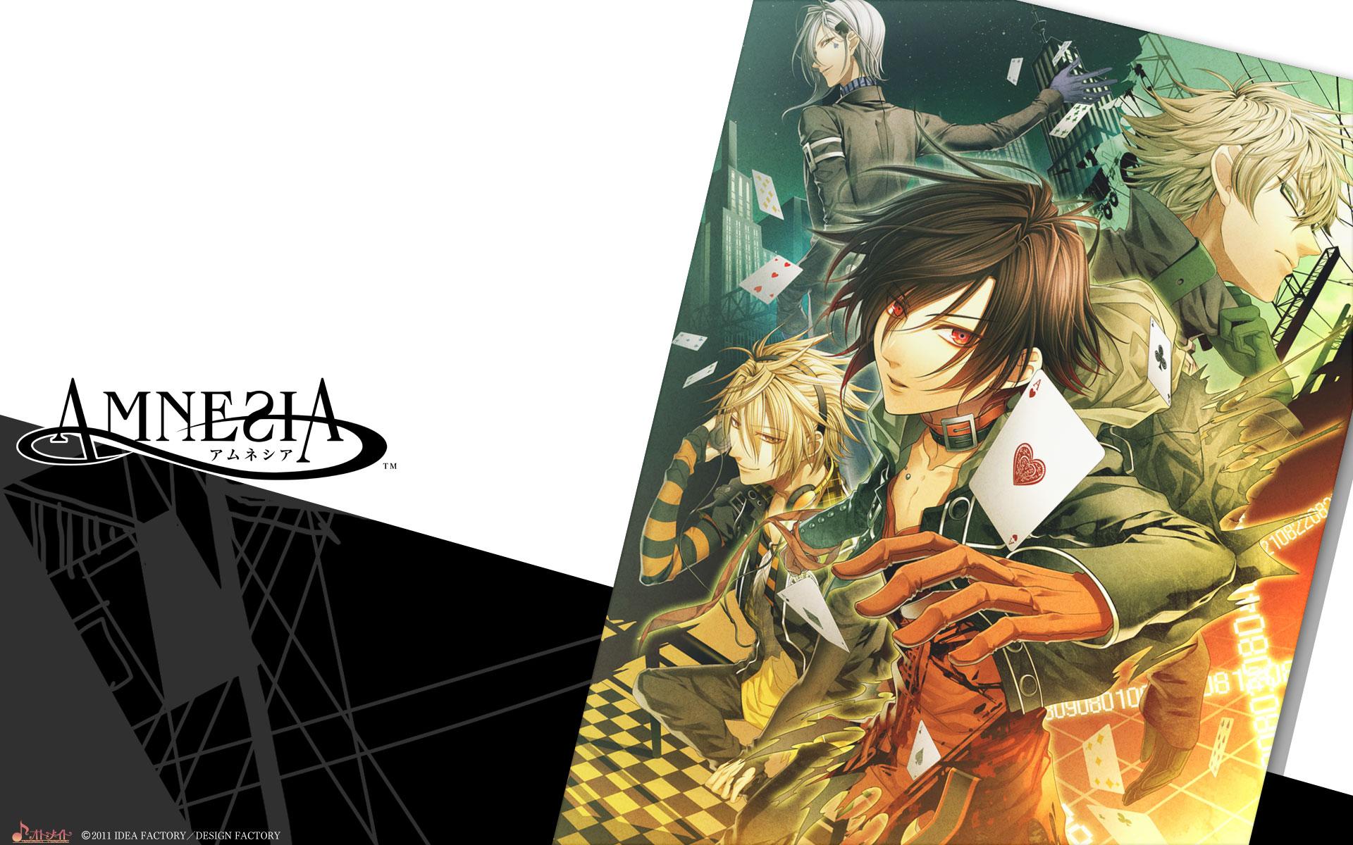 Обои для рабочего стола аниме амнезия