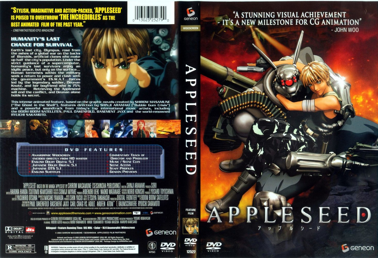 Appleseed film  Wikipedia