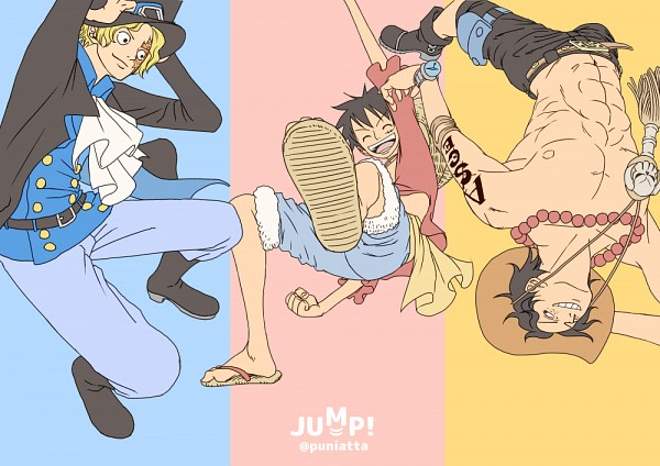 Tags: Anime, Pixiv Id 8083003, ONE PIECE, Monkey D. Luffy, Portgas D. Ace, Sabo, Muscles