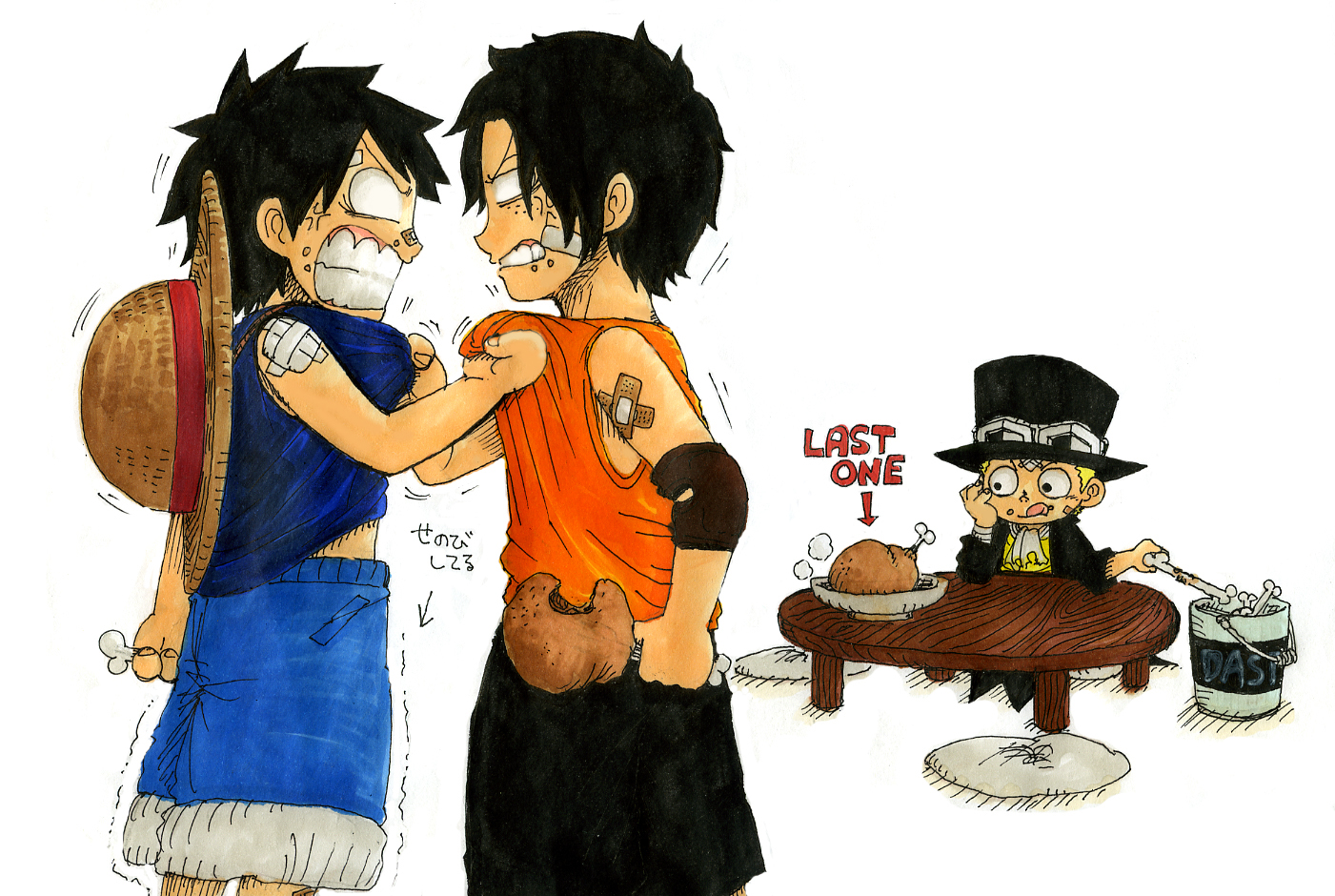 ace and luffy fighting wallpaper - photo #36