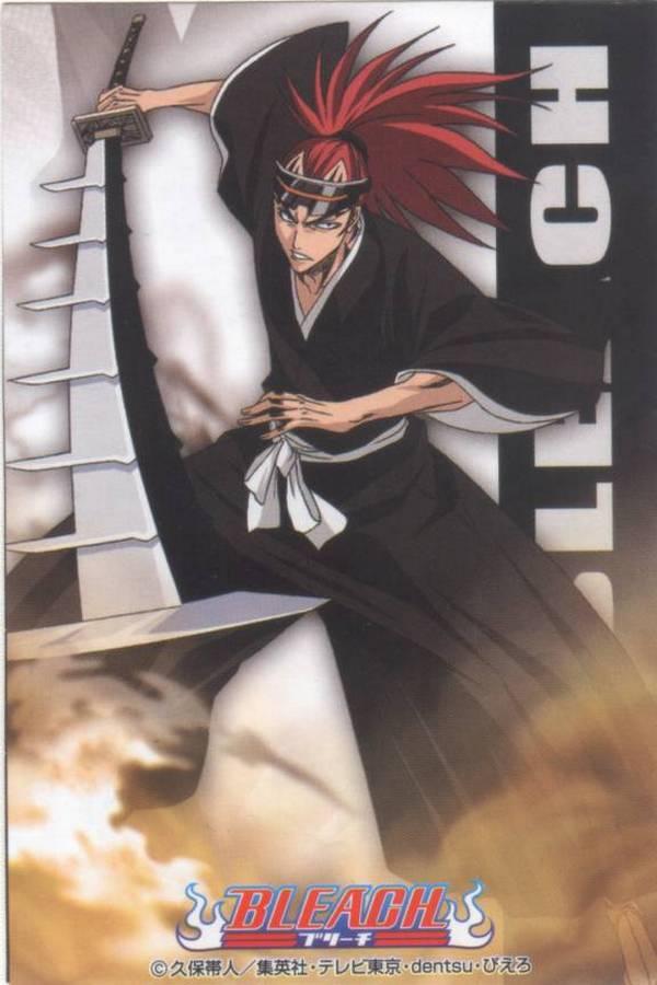 Tags: Anime, Studio Pierrot, BLEACH, Abarai Renji, Official Art, Gotei 13
