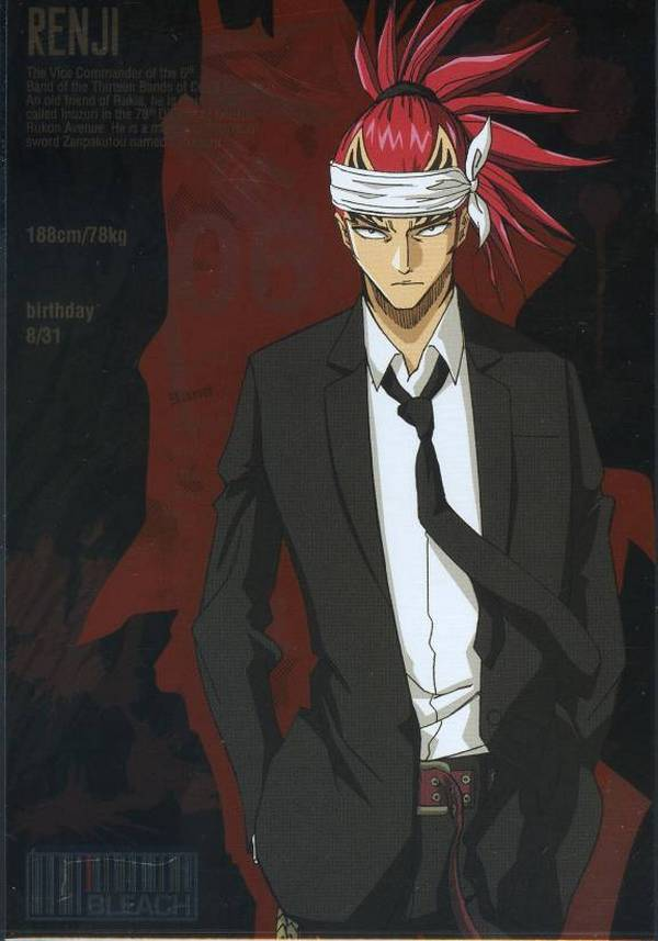 Tags: Anime, BLEACH, Abarai Renji, Official Art, Gotei 13