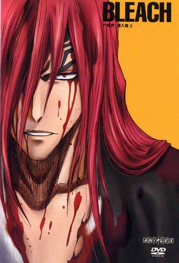 Tags: Anime, Aniplex, BLEACH, Abarai Renji, Scan, DVD (Source), Official Art, Gotei 13