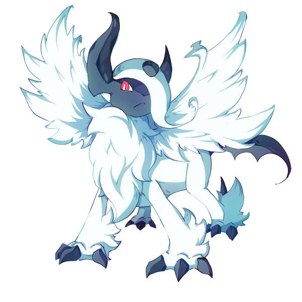 Tags: Anime, Pixiv Id 861360, Pokémon, Absol, Mega Form (Pokémon), Fanart, Fanart From Pixiv, Pixiv