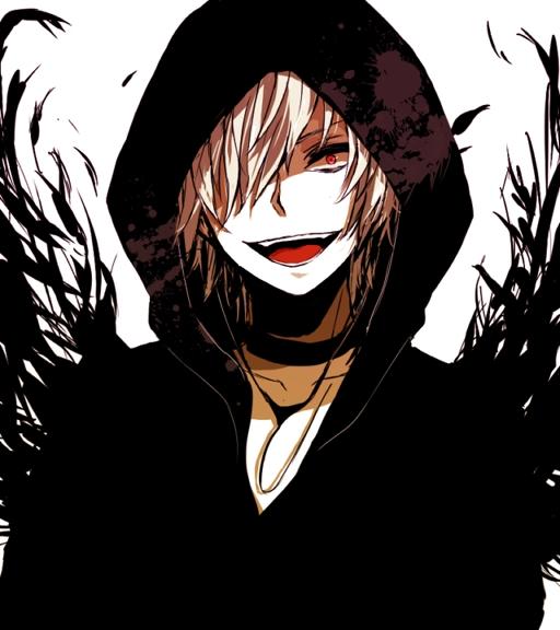 Tags: Anime, Kina58, To Aru Majutsu no Index, Accelerator, Black, Black Hoodie, Pixiv, PNG Conversion, Fanart