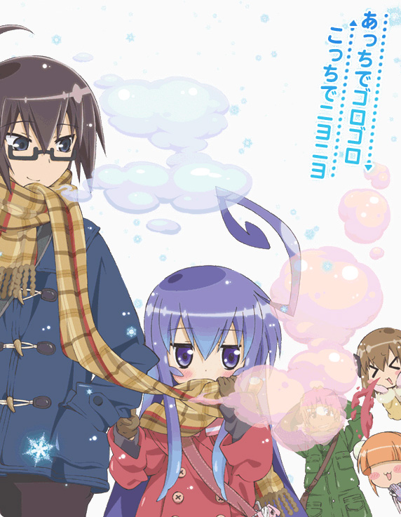 Tags: Anime, Acchi Kocchi, Katase Mayoi, Otonashi Io, Haruno Hime, Miniwa Tsumiki, Sakaki Inui, Official Art, Place To Place