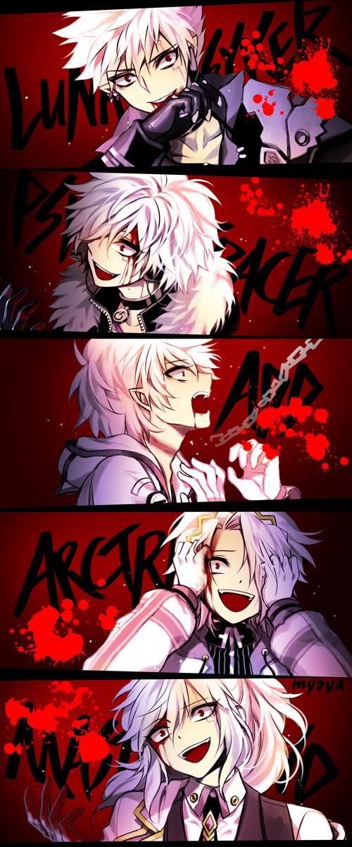 Tags: Anime, MYOYA, Elsword, Add (Elsword), Psychic Tracer (Add), Arc Tracer (Add), Mastermind (Add), Lunatic Psyker (Add), Pixiv