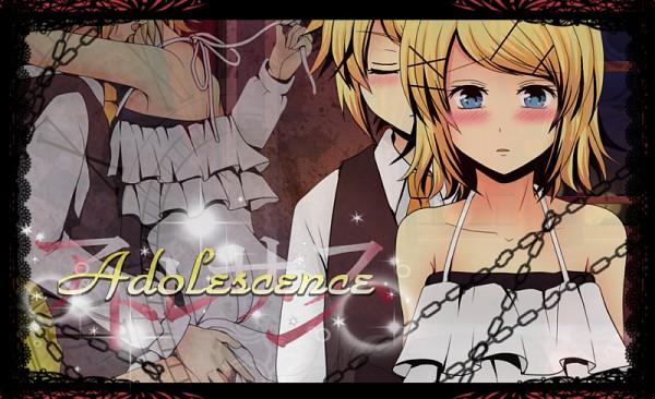 Tags: Anime, Vocaloid, Kagamine Rin, Kagamine Len, Adolescence