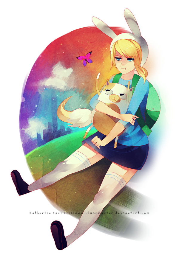 Fionna And Cake Backpack