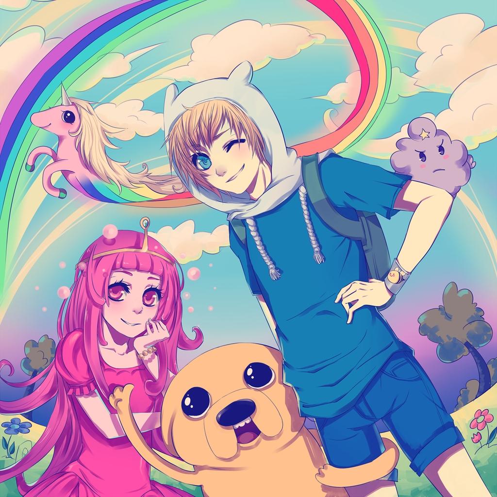 Lady Rainicorn - Adventure Time - Zerochan Anime Image Board  Lady Rainicorn ...