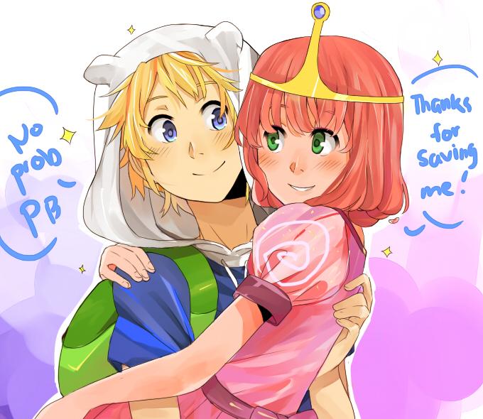 Adventure Time Princesses Anime