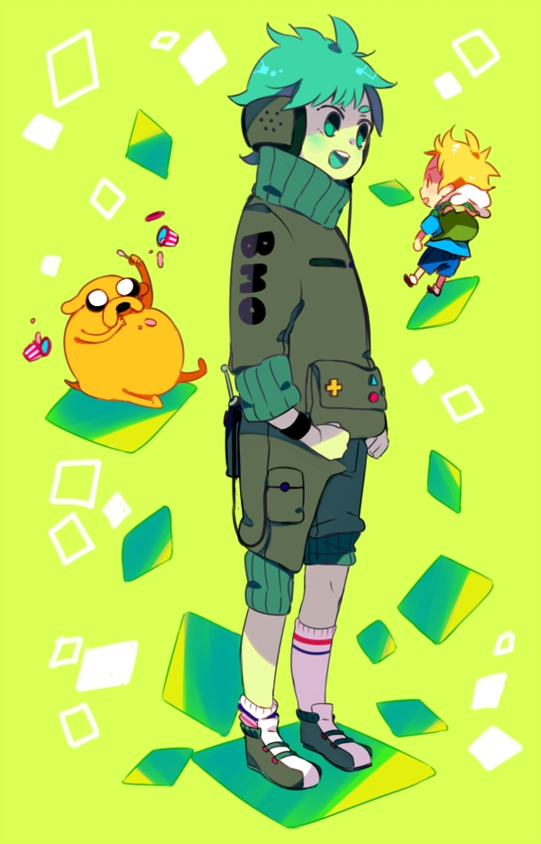 Tags: Anime, WikiME, Adventure Time, Finn the Human, BMO, Jake the Dog, Tumblr, Mobile Wallpaper, Fanart
