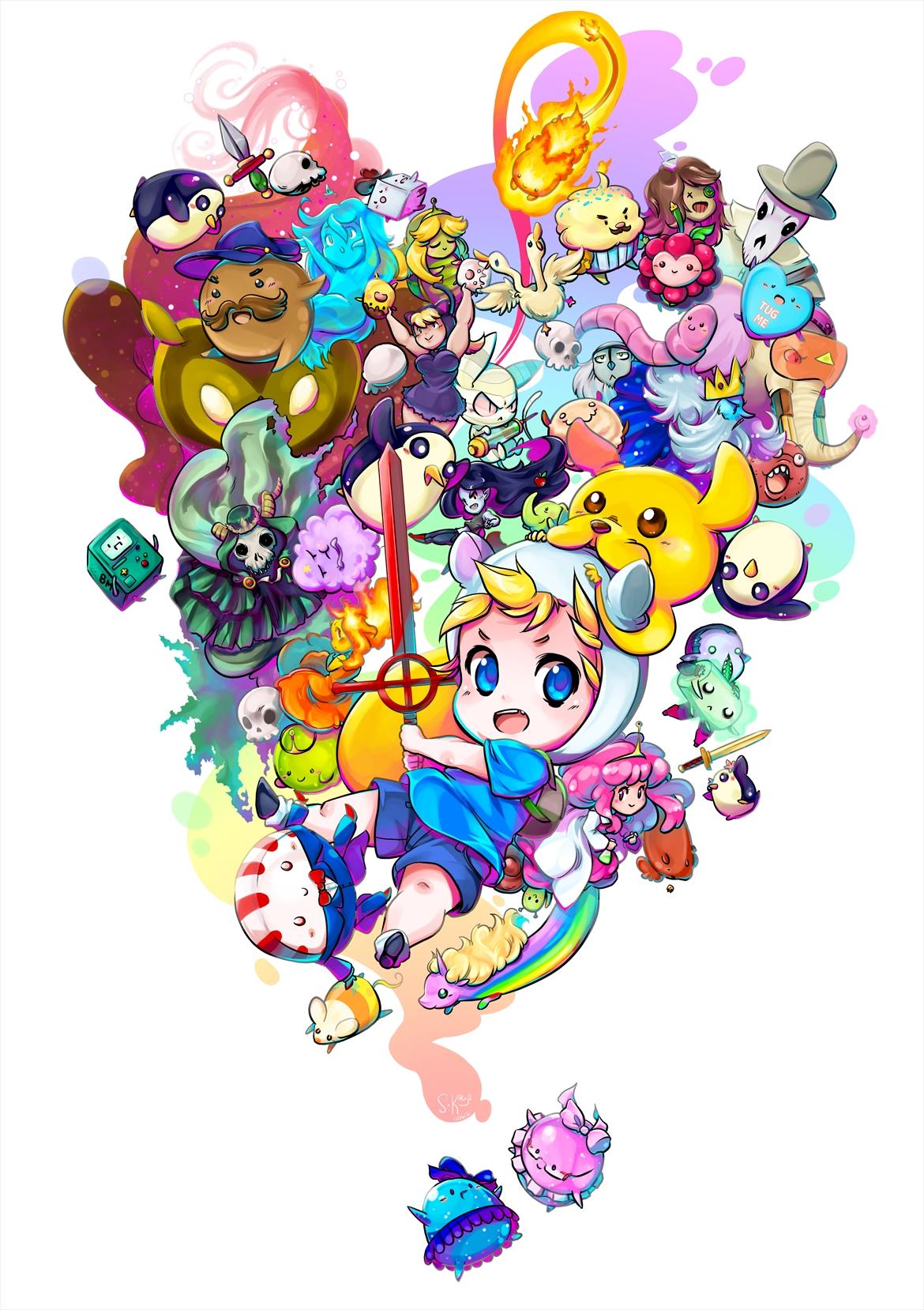 Lady Rainicorn Adventure Time Zerochan Anime Image Board