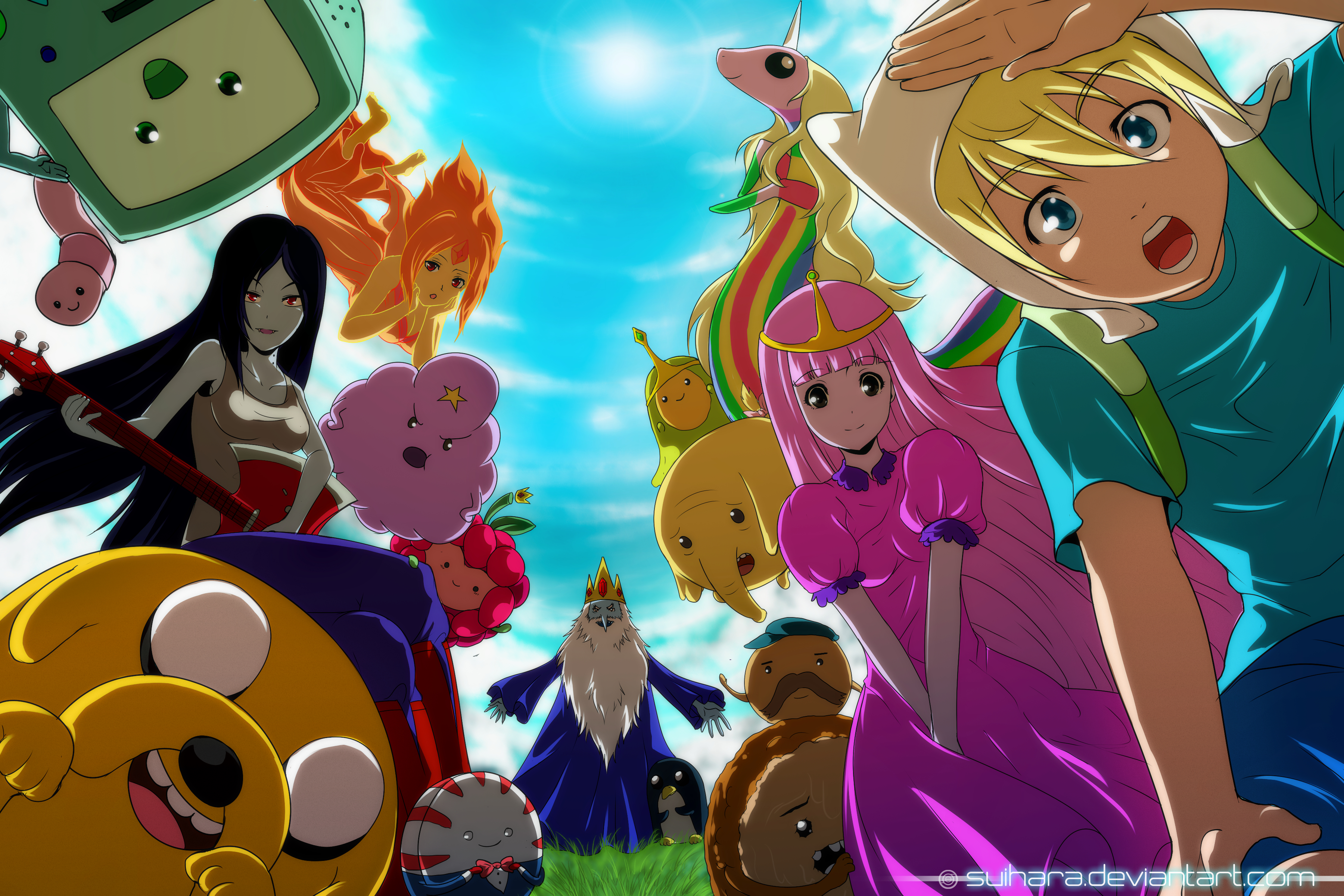 Anime Adventure Time Pictures adventure time - zerochan anime image board