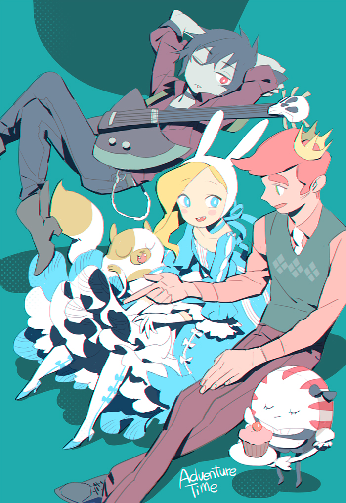 Adventure Time Cake The Cat And Fionna The Human