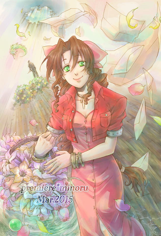 Tags: Anime, Pixiv Id 3147901, Final Fantasy VII, Aerith Gainsborough