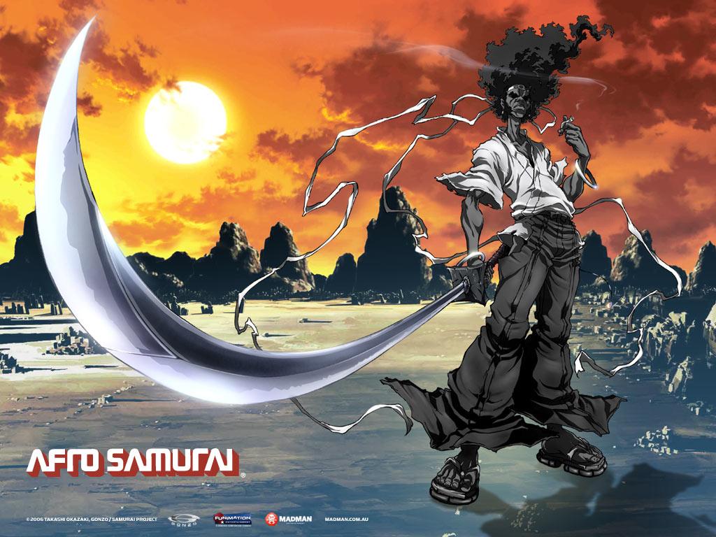 Afro Samurai Wallpaper 53731 Zerochan Anime Image Board