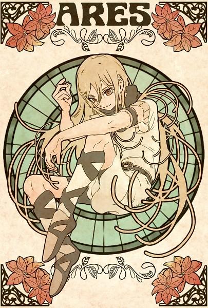 Tags: Anime, Pixiv Id 2071470, Inazuma Eleven, Inazuma Eleven: Ares no Tenbin, Afuro Terumi, Zeus (Ares) Uniform, Red Flower