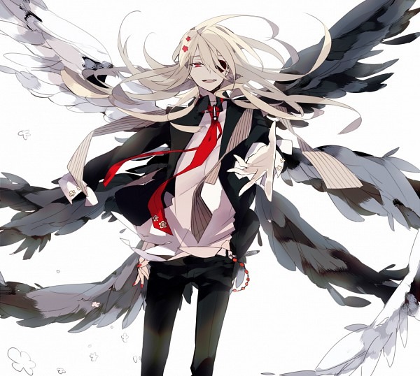 Tags: Anime, Suou, Inazuma Eleven, Afuro Terumi, Extra Wings, Androgynous, White Wings