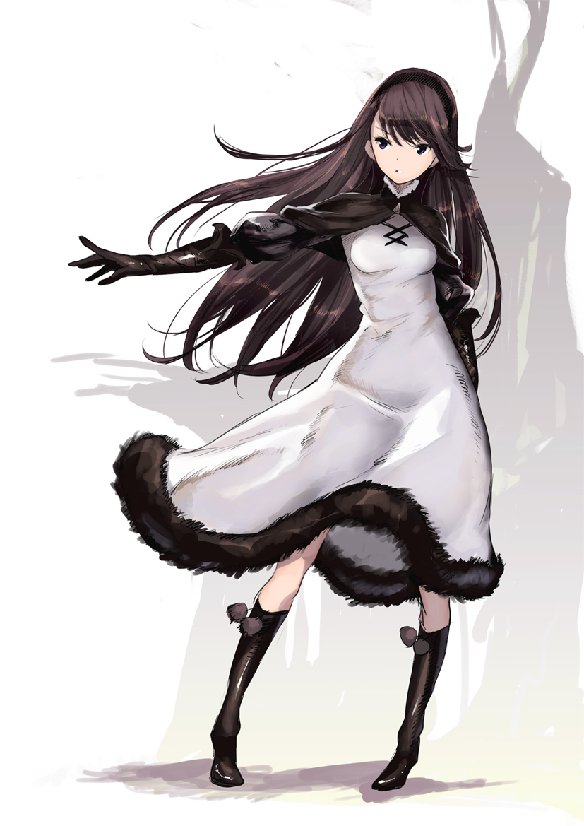 Agnes Bravely Default Official Art
