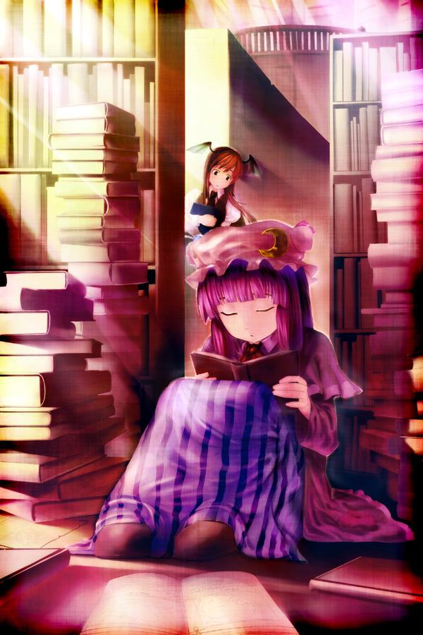 Tags: Anime, Touhou, Patchouli Knowledge, Ahobaka