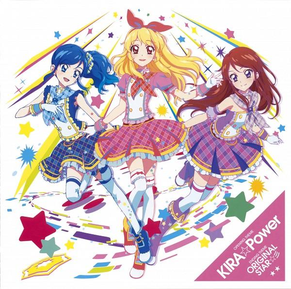 Tags: Anime, Petticoats, Yaguchi Hiroko, Frilled Skirt, Aikatsu!, Hoshimiya Ichigo, Kiriya Aoi