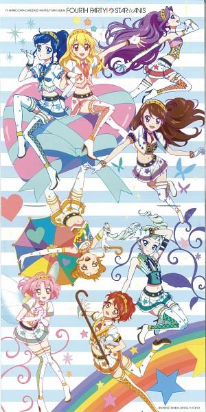 Tags: Anime, Twin Buns, Yaguchi Hiroko, Aikatsu!, Hoshimiya Ichigo, Kiriya Aoi, Shibuki Ran