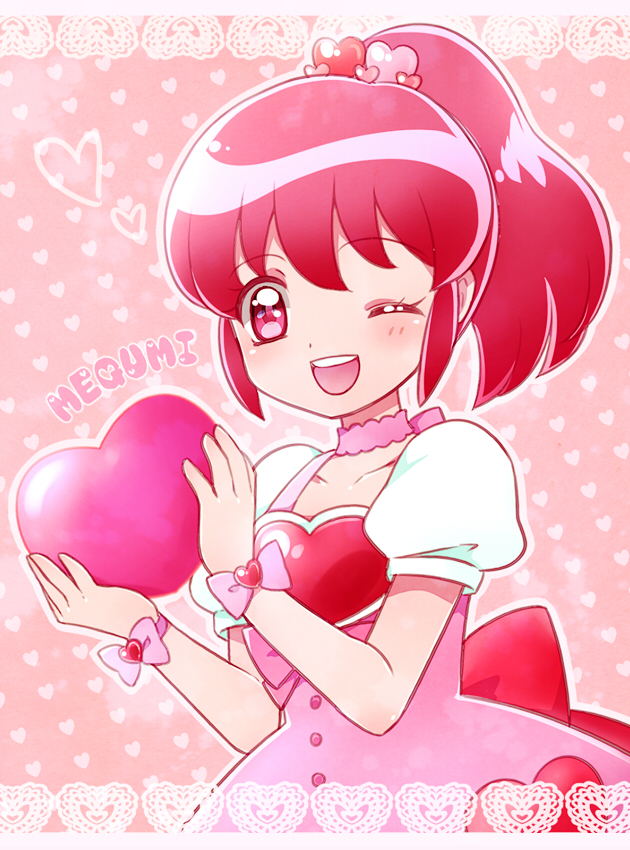 Tags: Anime, Kagamichihiro, HappinessCharge Precure!, Aino Megumi, Fanart From Pixiv, Pixiv, Fanart