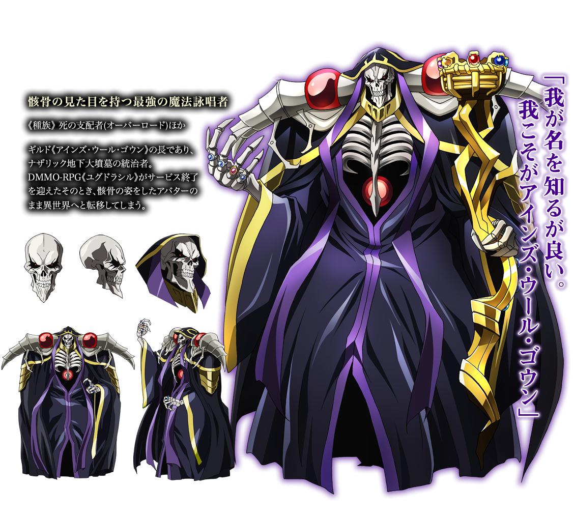 Ainz Ooal Gown Overlord Zerochan Anime Image Board