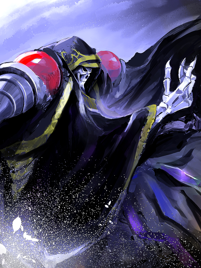 Tags: Anime, Pixiv Id 95888, Overlord, Ainz Ooal Gown