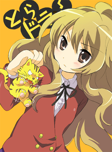 Tags: Anime, Toradora!, Palmtop Tiger, Aisaka Taiga, Fanart