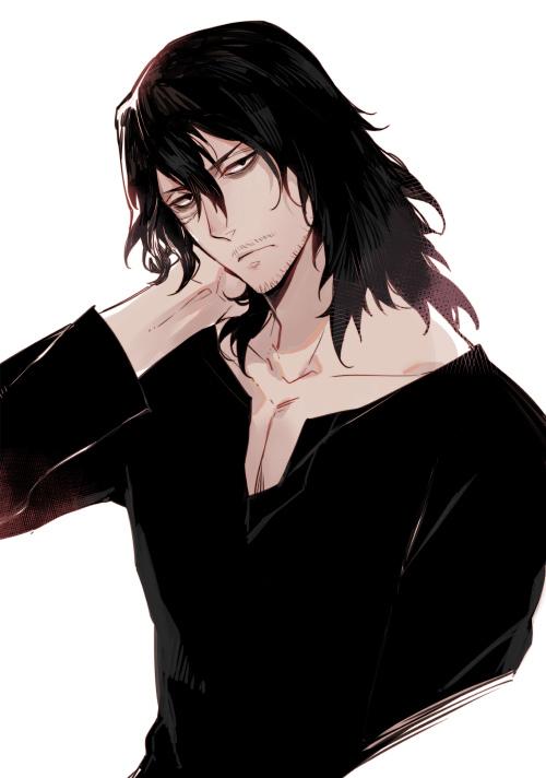 Tags: Anime, Pixiv Id 474137, Boku no Hero Academia, Aizawa Shouta, Fanart From Pixiv, Pixiv, Fanart