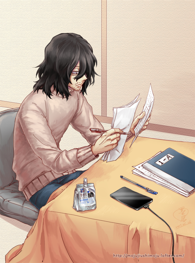 Tags: Anime, Pixiv Id 2317056, Boku no Hero Academia, Aizawa Shouta, Pixiv, Fanart, Fanart From Pixiv