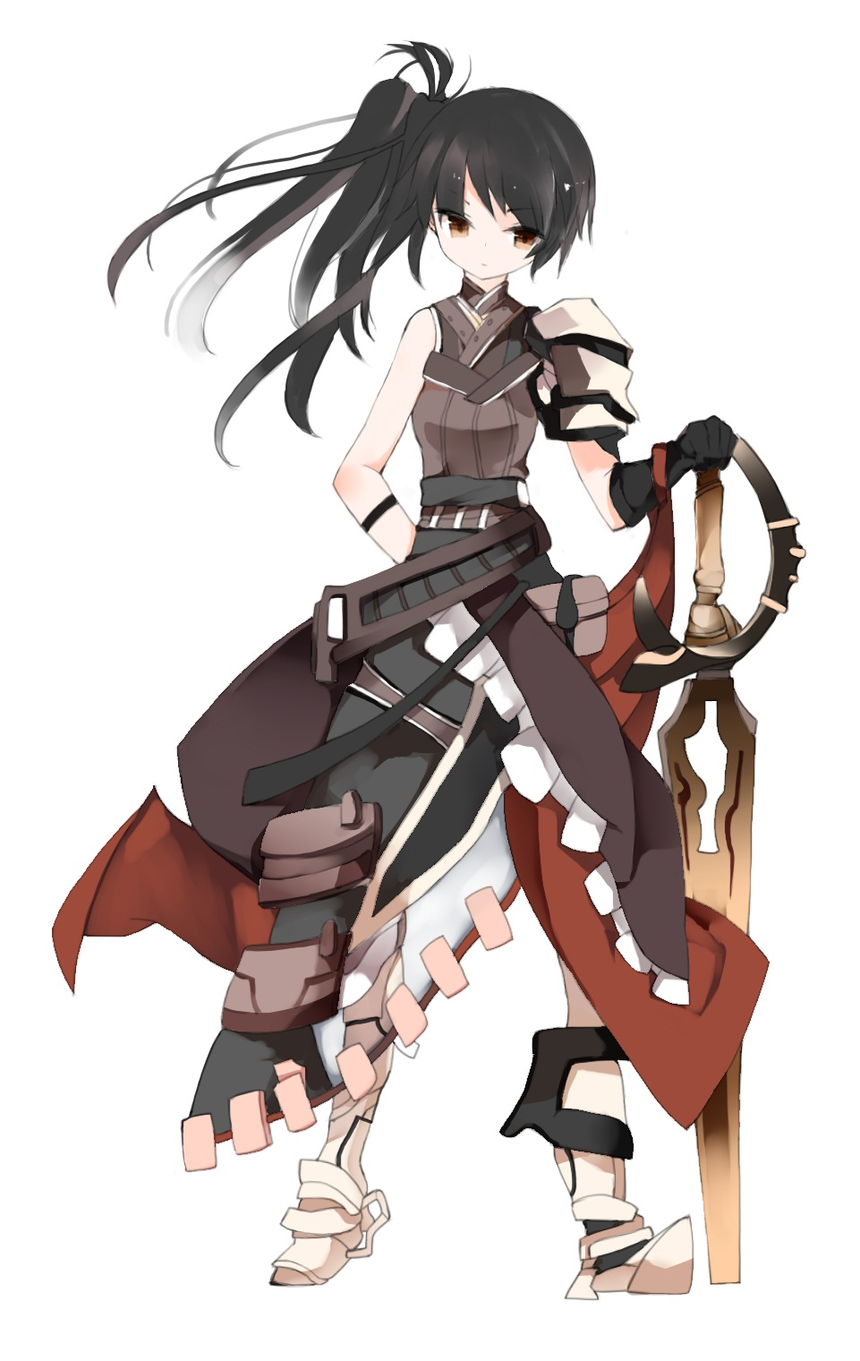 anime girls belts feathers - photo #16