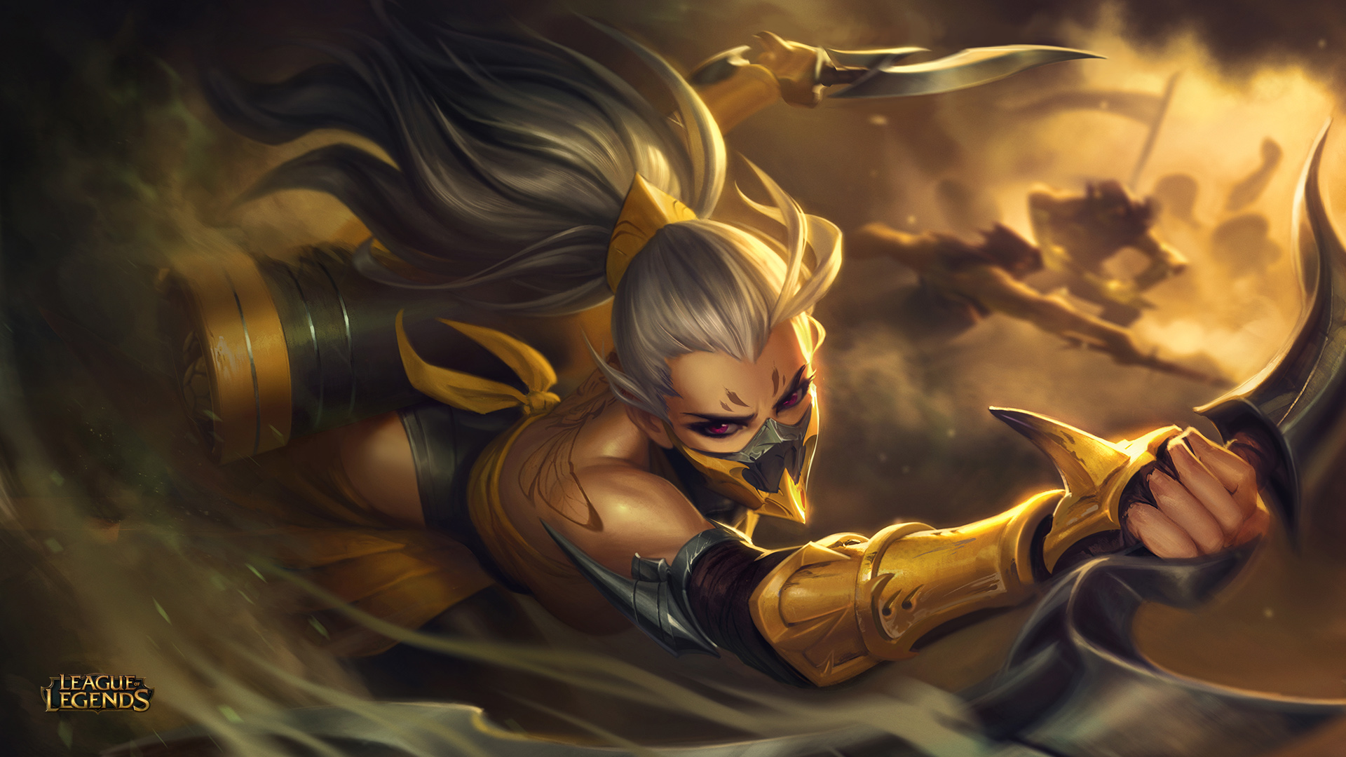 Akali League Of Legends Wallpaper 2354603 Zerochan Anime