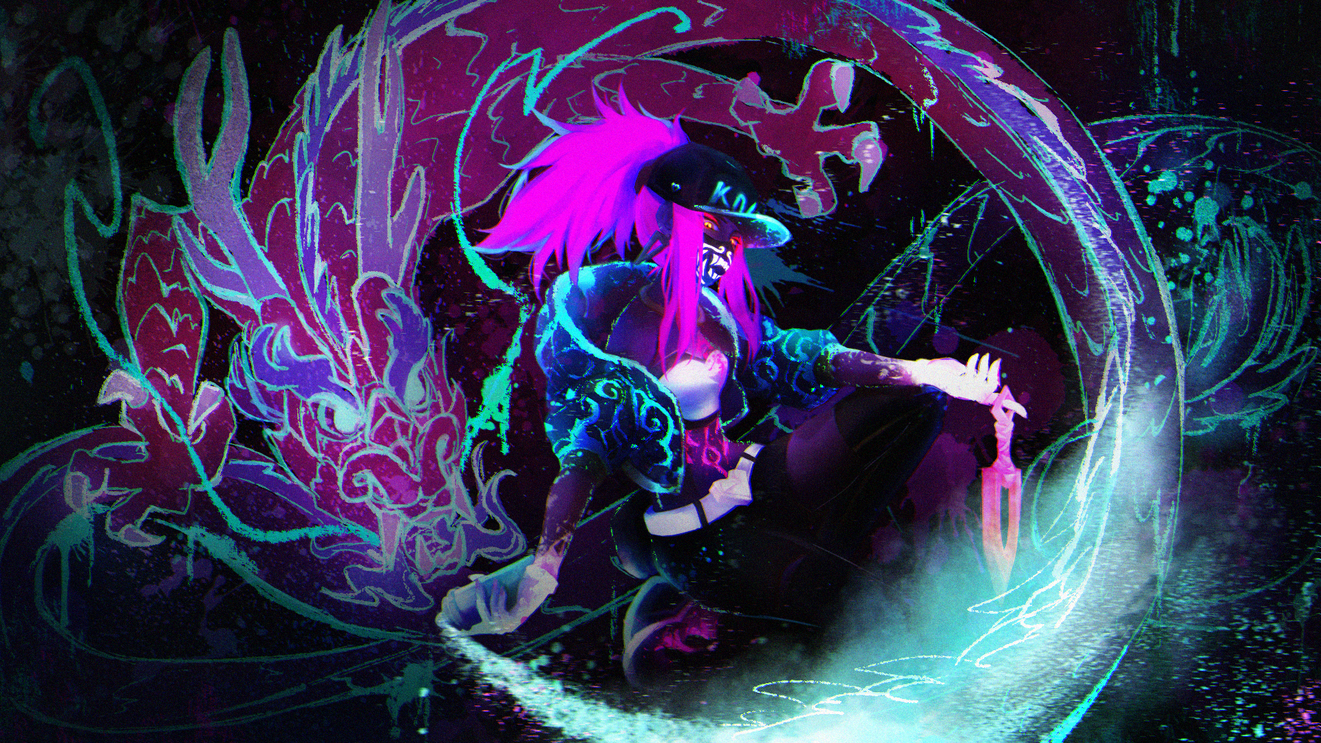 Akali League Of Legends Zerochan Anime Image Board