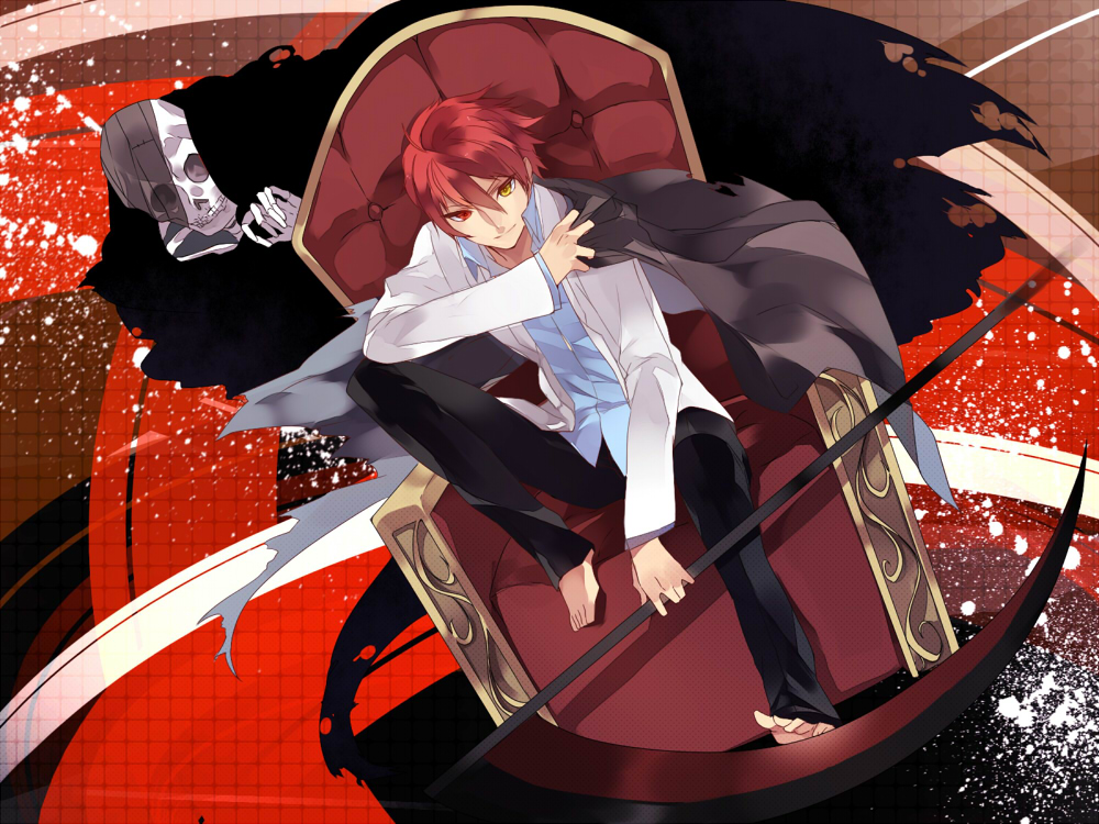 Grim Reaper Zerochan Anime Image Board