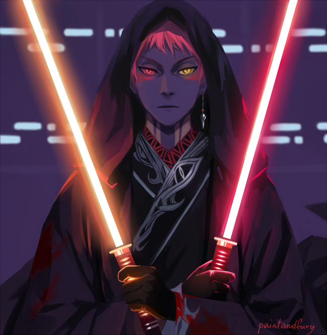 Tags: Anime, Paintandfury, Star Wars, Kuroko no Basuke, Akashi Seijuurou, Star Wars (Parody), Sith Lord, Jedi, Tumblr