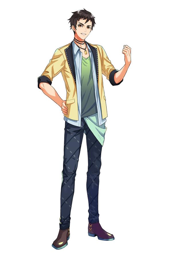 Tags: Anime, Ebira, Readyyy!, Akashi Tatsuma, Official Art