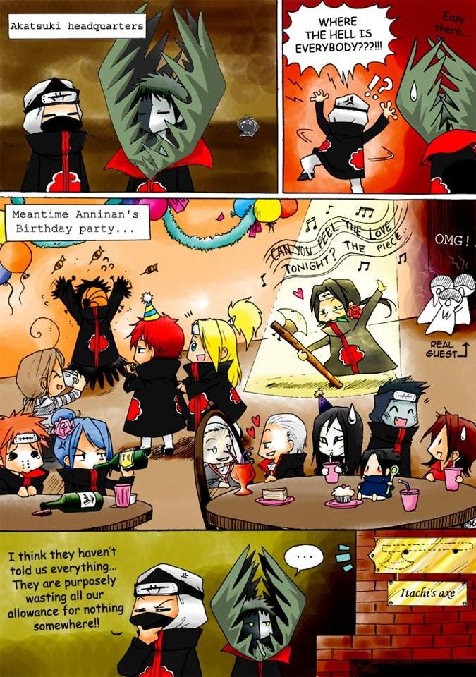 Tags: Anime, NARUTO, Kakuzu, Hidan, Uchiha Sasuke, Konan, Sasori