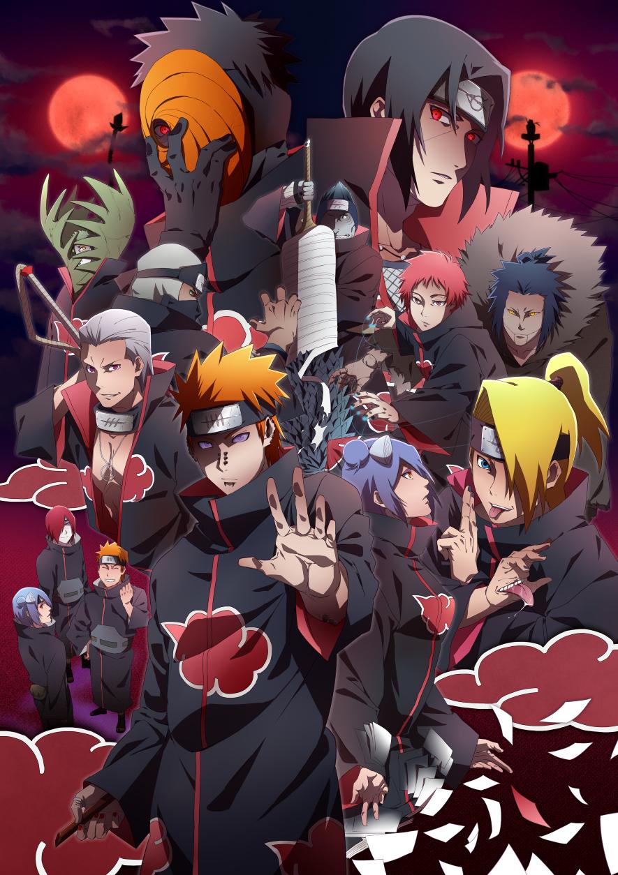 Akatsuki naruto naruto zerochan anime image board - Image de naruto ...
