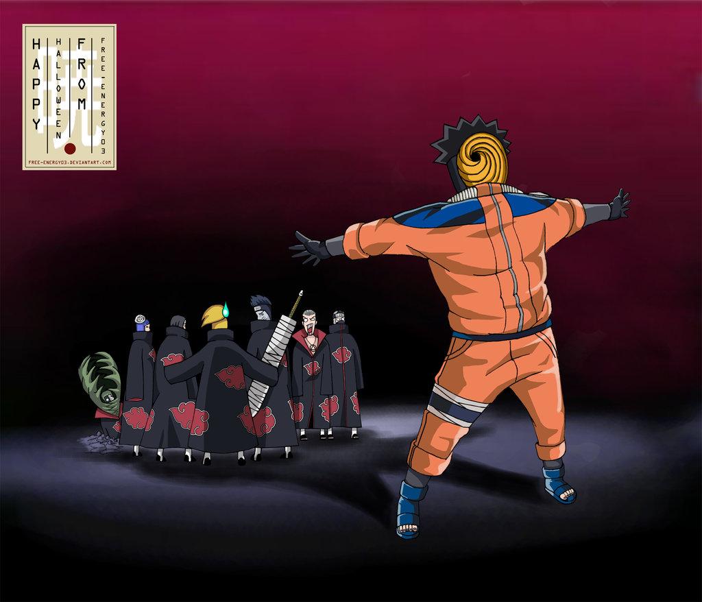 Wonderful Wallpaper Naruto Halloween - Akatsuki  Perfect Image Reference_67958.jpg