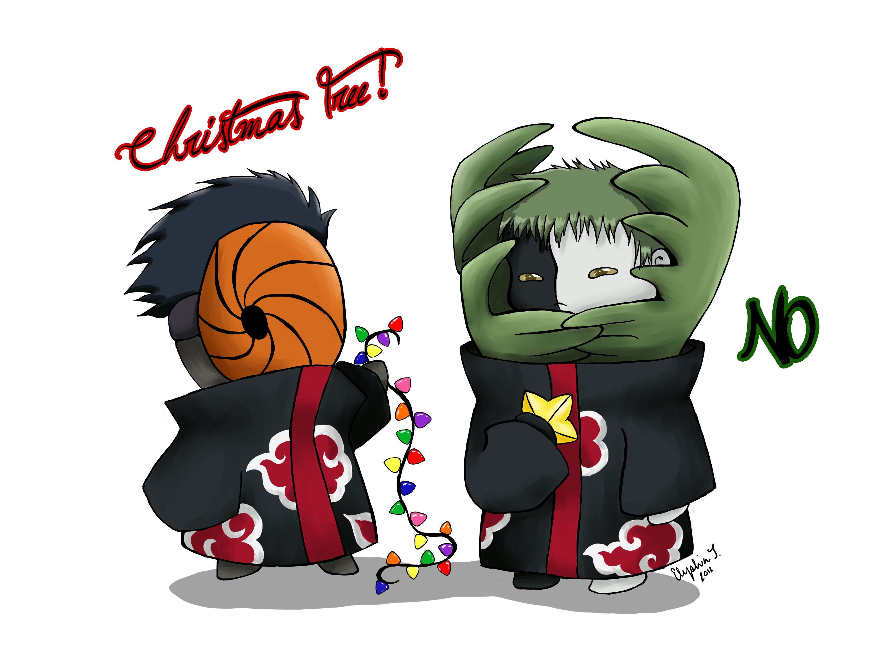 chibi christmas page 8 zerochan anime image board
