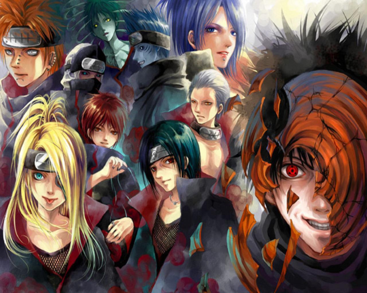 Akatsuki (NARUTO) Wallpaper #366135 - Zerochan Anime Image ...