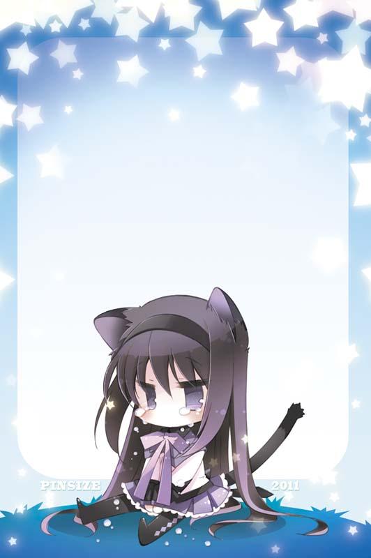Tags: Anime, Mitaonsya, Mahou Shoujo Madoka☆Magica, Akemi Homura, Pixiv, Fanart