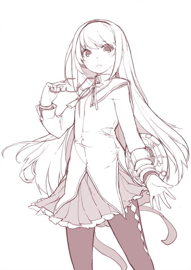 Tags: Anime, Sakura Sora, Mahou Shoujo Madoka☆Magica, Akemi Homura, Sketch, Mobile Wallpaper, Fanart