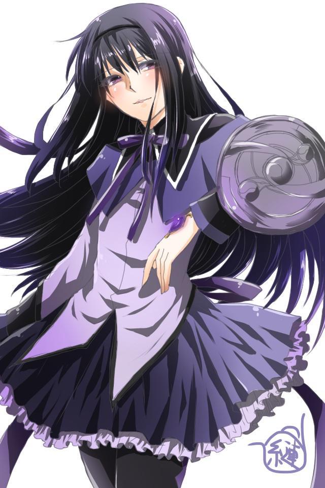 Tags: Anime, Pixiv Id 7469907, Mahou Shoujo Madoka☆Magica, Akemi Homura, Fanart, Fanart From Pixiv, Pixiv